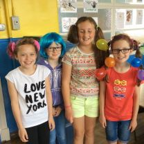 crazy hair day in P6