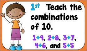 Adding 3 Numbers To 10 In Primary Three