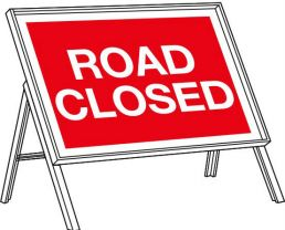 Road Closure - This Weekend