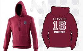 Friday - Last Day For Leavers' Hoodies