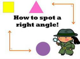 Finding Right Angles In Primary Four
