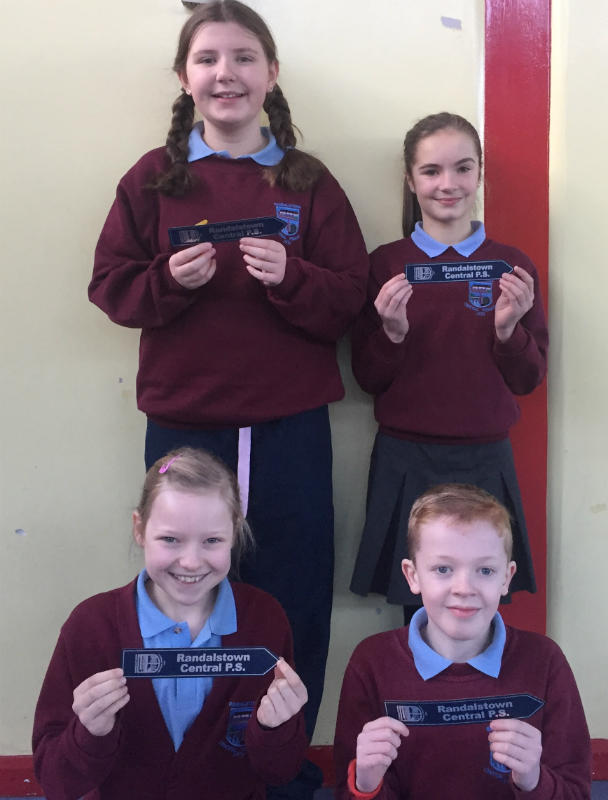 Our Primary Seven target achievers in Accelerated Reading for Term 2