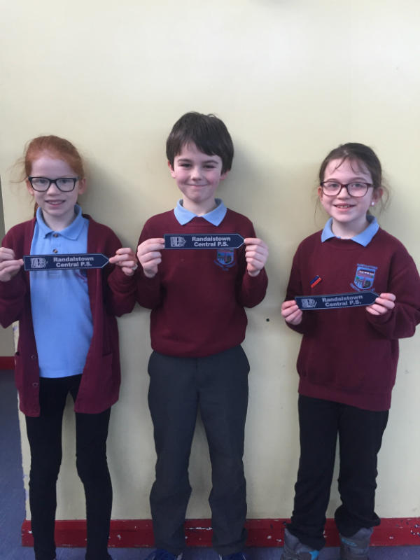 Our Primary Five target achievers in Accelerated Reading for Term 2
