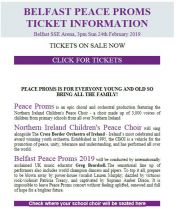 Peace Proms - Tickets On Sale Now