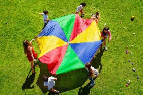 Parachute Games In Primary 1