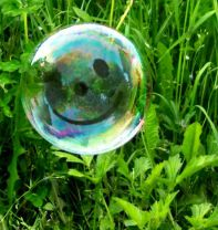 What is this....?  It's a 'Happy' Bubble !